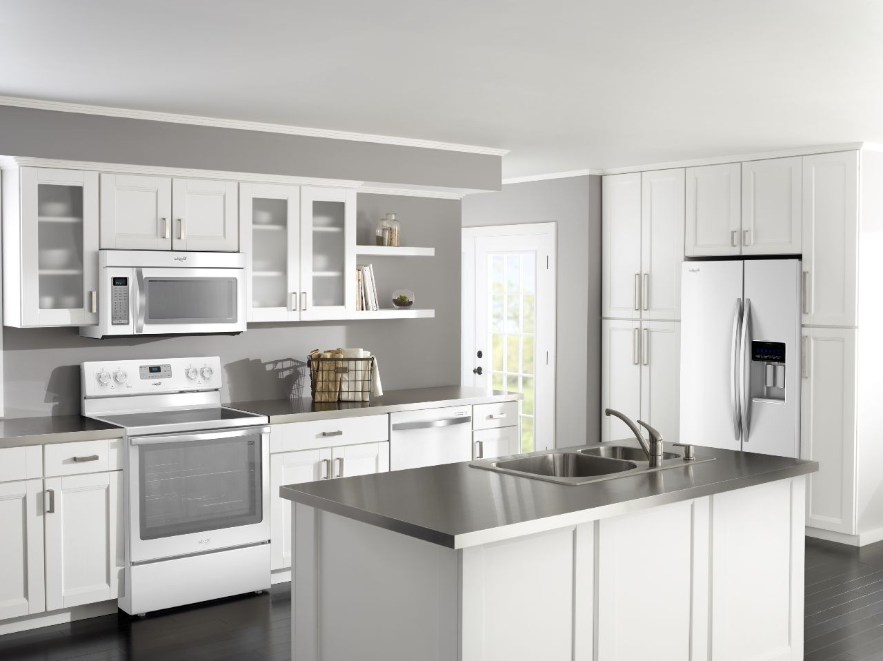 Kitchen Paint Ideas With White Appliances   Novocom.top