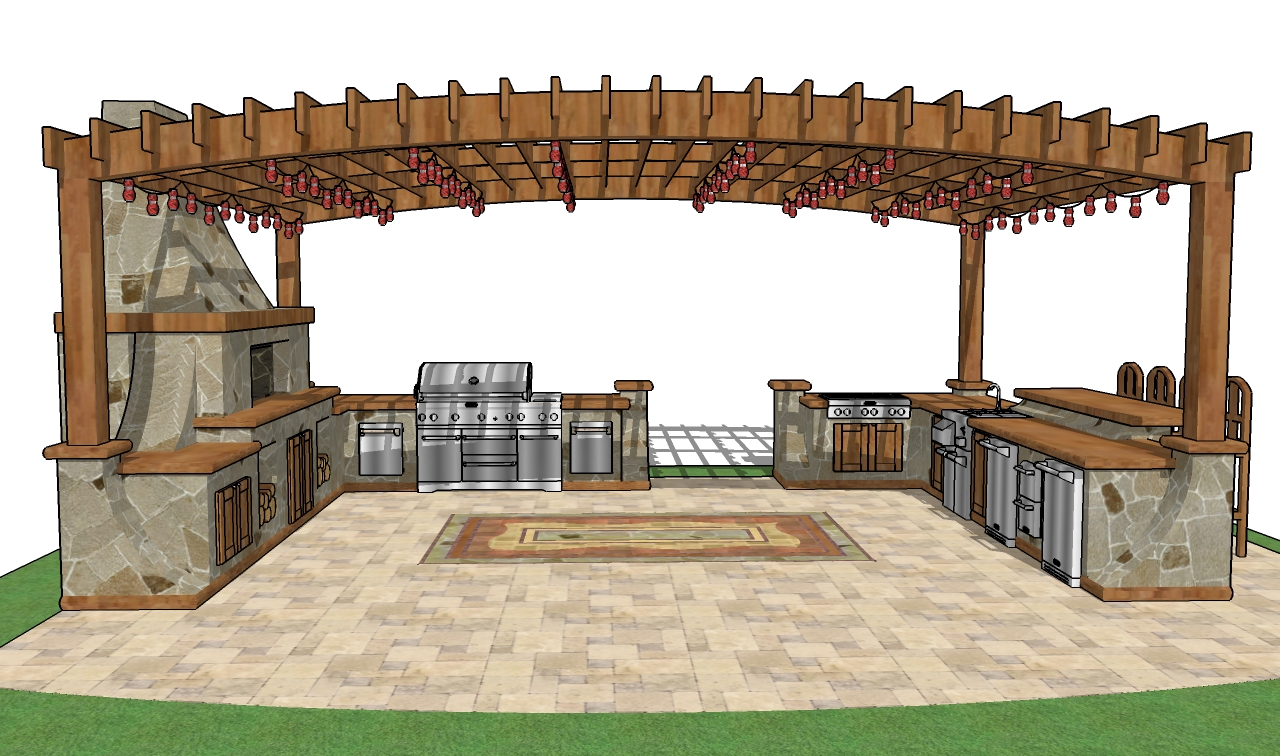 Outdoor bar roof design | Hawk Haven on Backyard Bar With Roof id=99016