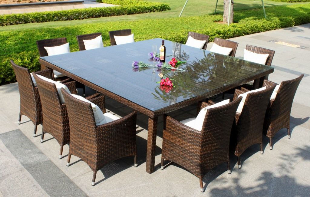 Outdoor Dining Sets For 12