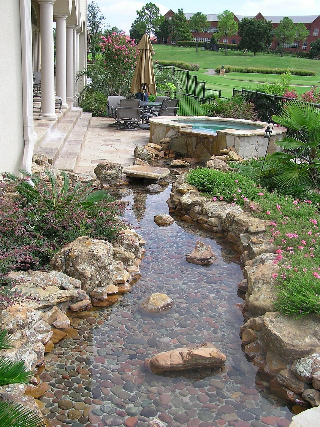 River rock garden ideas | Hawk Haven on Backyard Rock Designs id=79127
