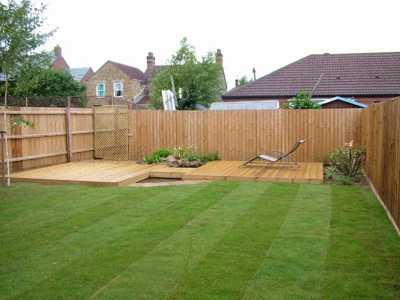 Sloped garden decking ideas | Hawk Haven on Decking Ideas For Sloping Garden id=68272