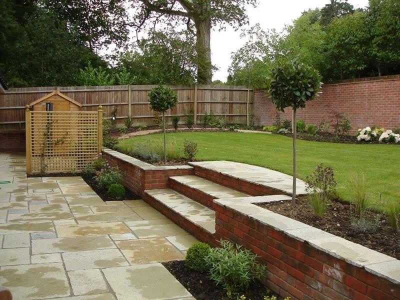 Sloped garden decking ideas | Hawk Haven on Decking Ideas For Sloping Garden id=20488