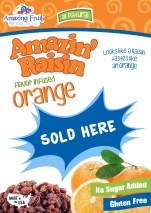 Orange Display Poster