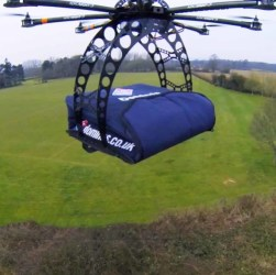 domino's pizza drone