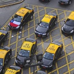 Paro de Taxistas en Alameda