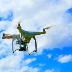 dron incendios forestales