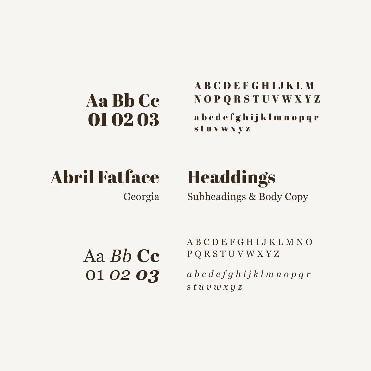 Cigar Man – Typography