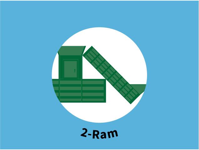 2-Ram Baler