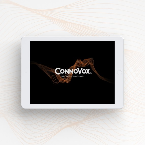ConnoVox Logo Design