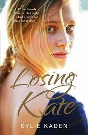 Front cover of Losing Kate by Kylie Kaden.