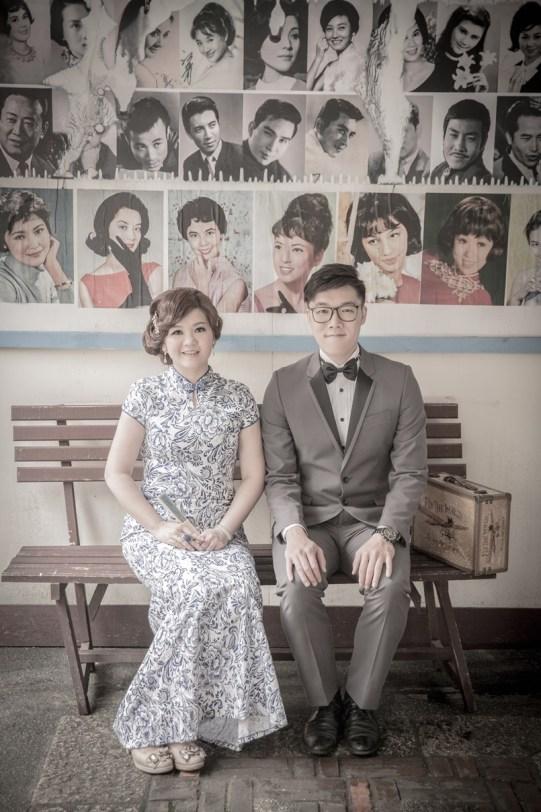 復古中式婚紗照-台北婚攝Hawk浩克