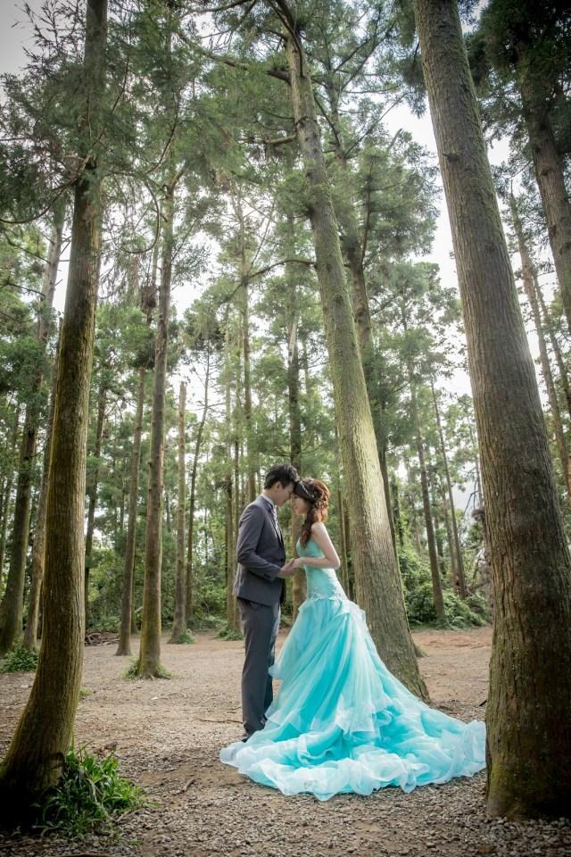 森林系自助婚紗攝影-台北婚攝Hawk