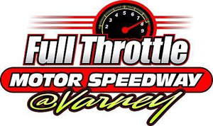 Full Throttle Motor Speedway Logo