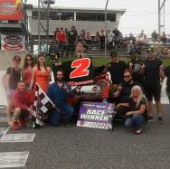 Dan and Team win at Sunset Speedway