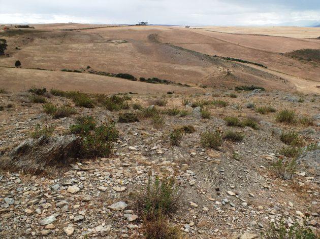 Fig. 145 View looking northwest to Riviersonderend