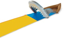 Jaws Meets Slip 'n Slide