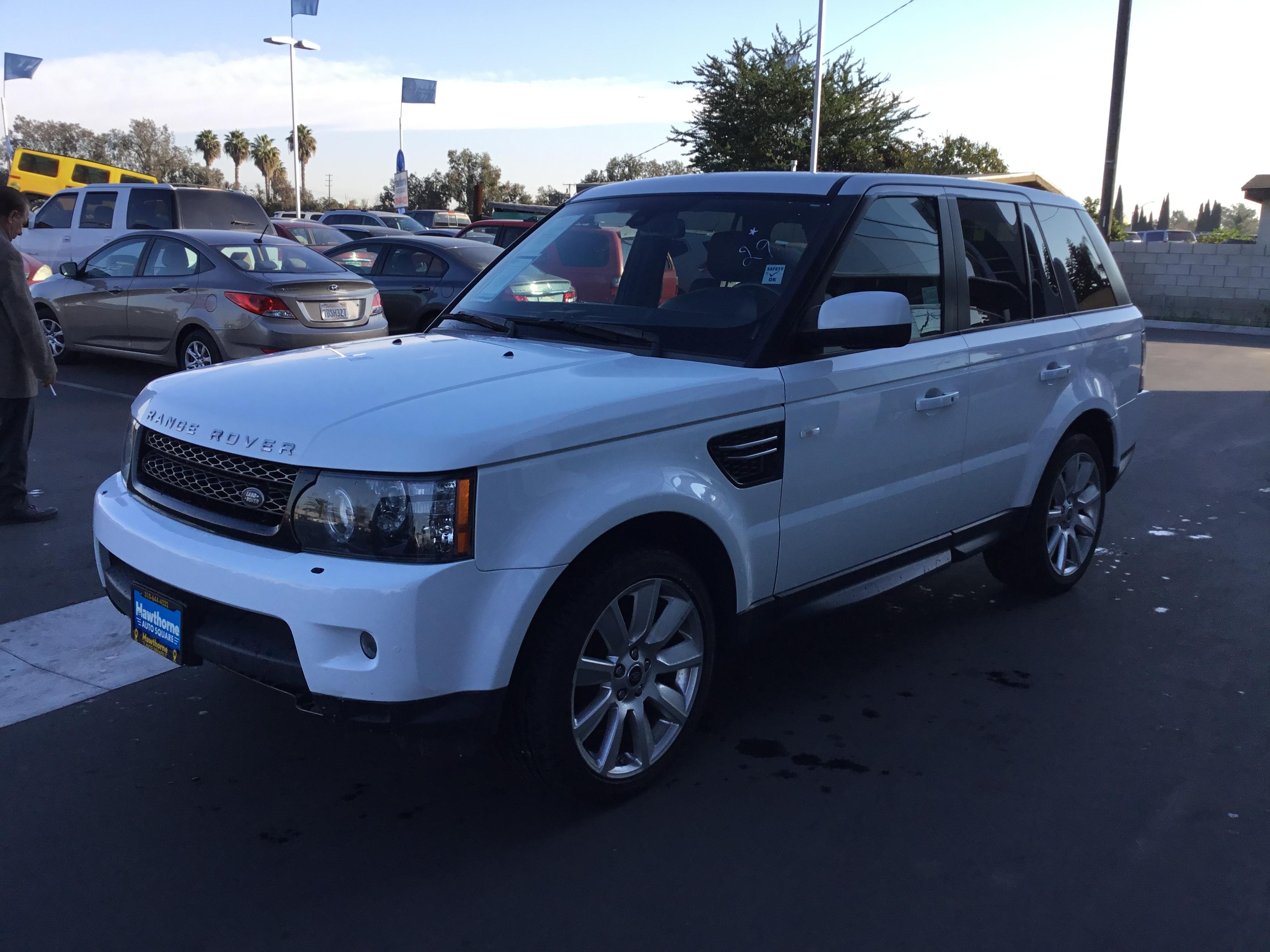 2013 Land Rover Range Rover Sport Hawthorne Auto Square