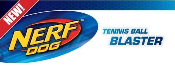 new Nerf Dog Tennis Ball Blaster launcher banner