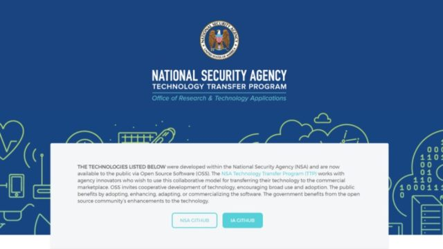 NSA's GitHub Account Has 32 Open Source Projects For The Public