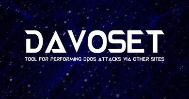 DAVOSET – Tool For Performing DDoS Attacks Via Other Sites