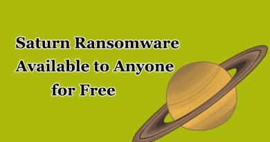 Ransomware-as-a-Service – New Saturn Ransomware Available to Anyone For Free