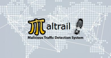 Maltrail – Malicious Traffic Detection System