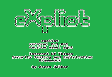 Expl-iot – Internet of Things Exploitation Framework