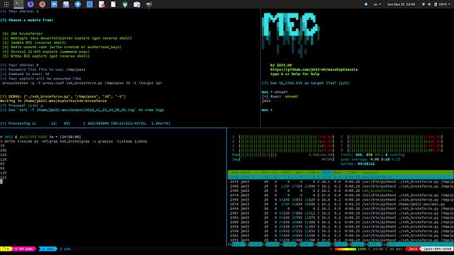 MEC v1.4.0 - Mass Exploit Console