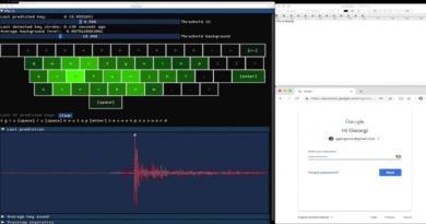 Keytap – Acoustic Keyboard Eavesdropping