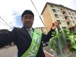 知多市議会議員選挙 つつじが丘3ハウスで買った野菜