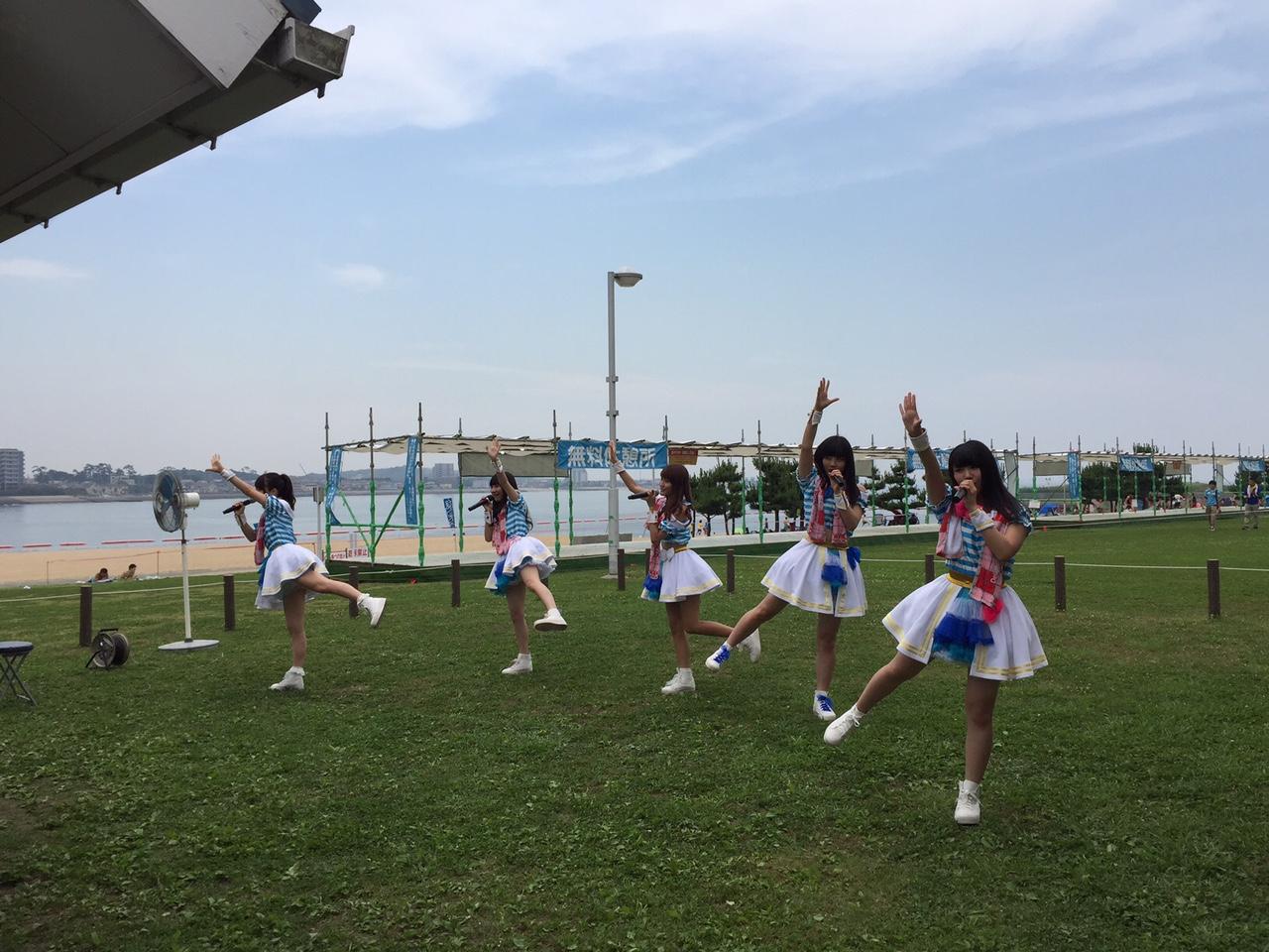 名古屋を拠点に活動するアイドルユニット「dela」