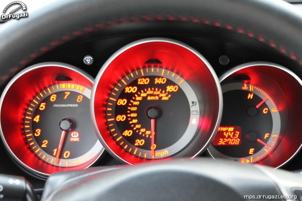 Mazdaspeed3 inside