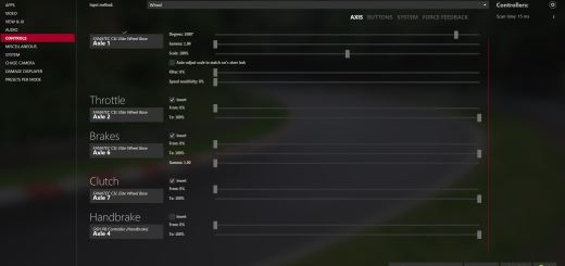 Assetto Corsa CSL Elite settings