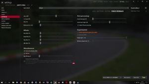 Assetto Corsa CSL Elite settings
