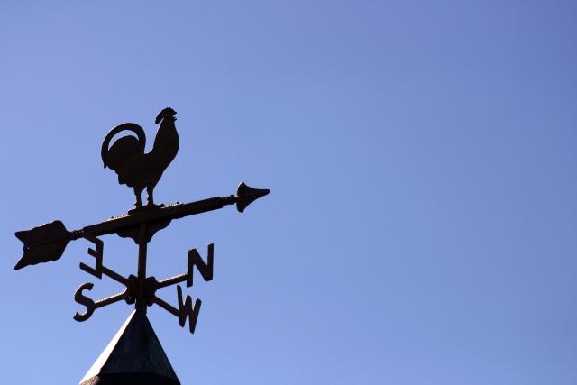 方角 風見鶏