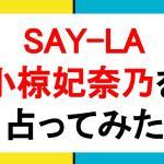 SAY-LA 小椋妃奈乃