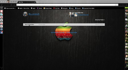 Cracked apple color logo screenshot