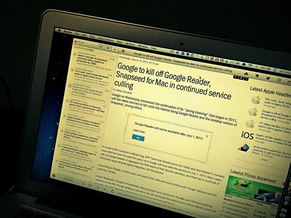 Google reader 20130314