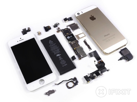 Ifixit iphone5s gold 20130920 3