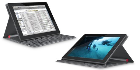 Logitech solar keyboard folio row 4