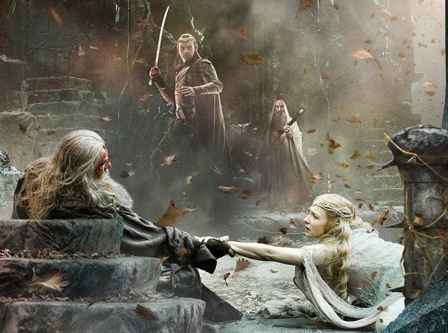 hobbit beş ordular savaşına doğru