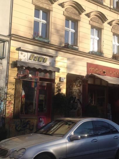 Kreuzberg de dükkanlar