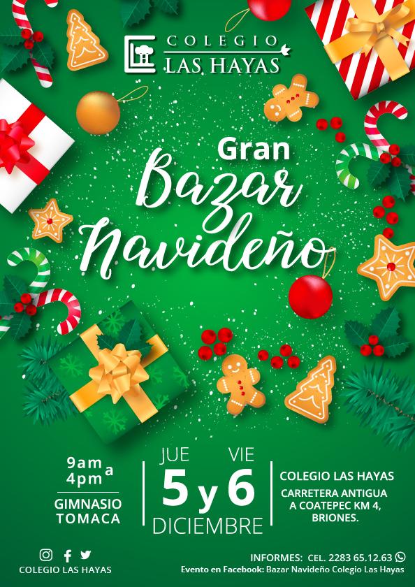 Bazar Navideño Hayas 2019 CARTEL WEB