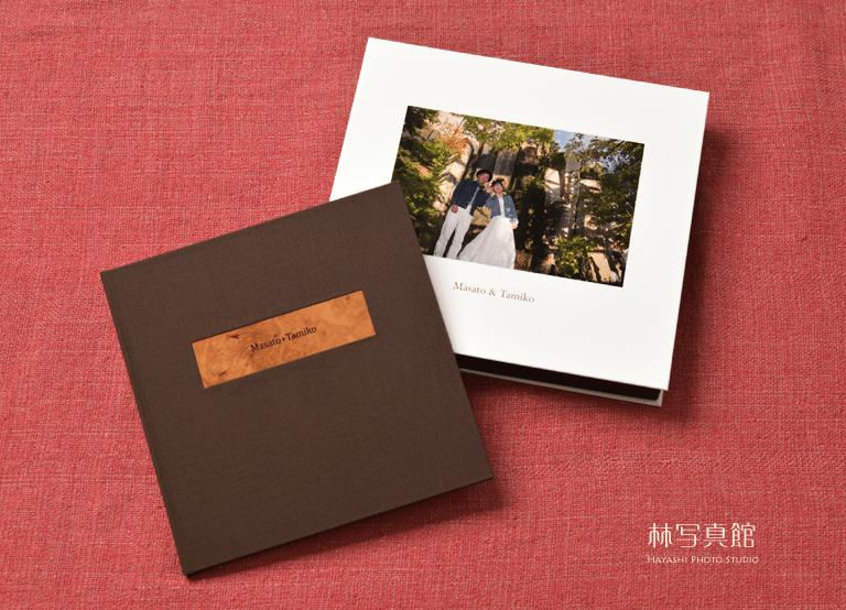ウエディング写真集仕上げサンプル | 林写真館