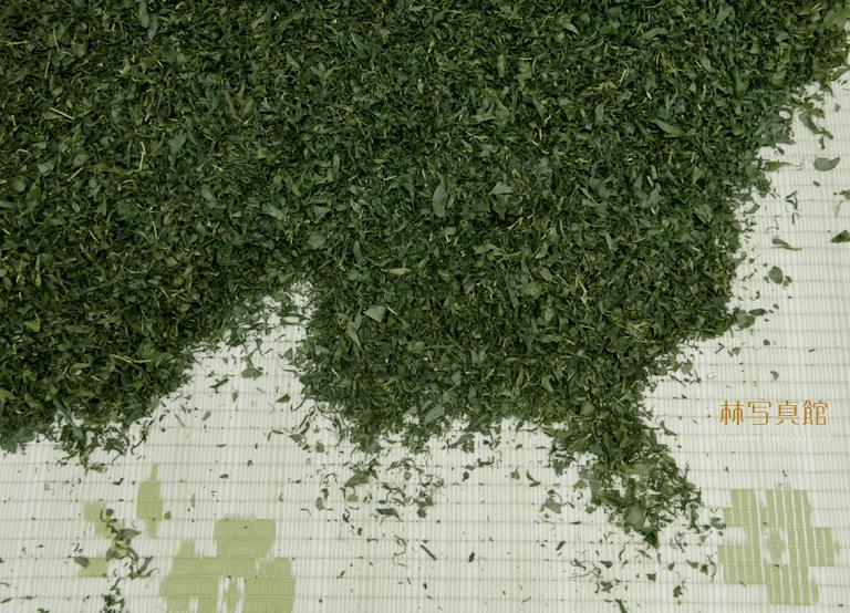 茶工場 | 茶葉とゴザ