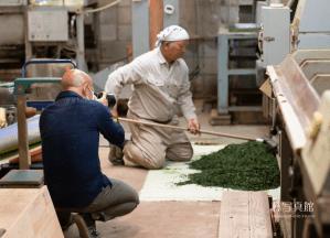 茶工場 | 撮影シーン