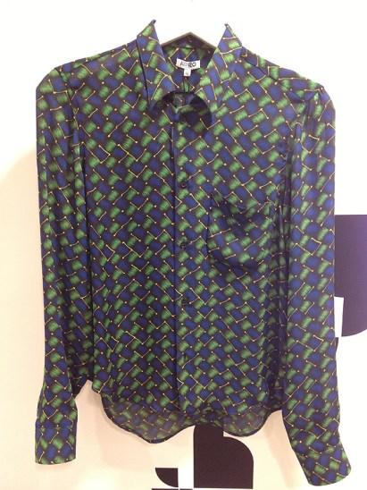 Kenzo blue/green 259€