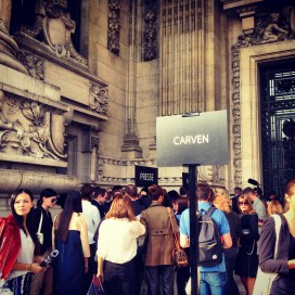 Carven Fashion Show Paris