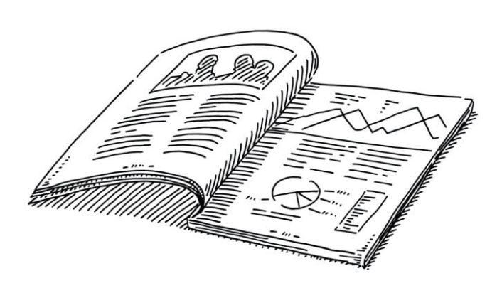 dijital minimalizm gazete okumak
