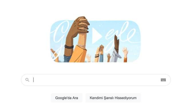 Google kadınlar günü 2021 doodle